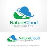 Nature Cloud Logo Template Design Vector, Emblem, Design Concept, Creative Symbol, Icon Stock Images