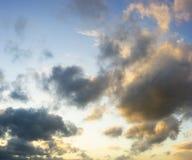 Nature cloud sky Stock Images
