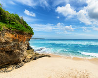 Coast of Bali Island Stock Images
