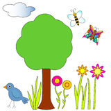 Nature collection Royalty Free Stock Photography