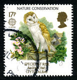 Nature Conservation UK Postage Stamp Stock Photo