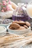 Nature cosmetics, handmade preparation with essential oils and a Royalty Free Stock Images