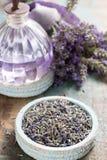 Nature cosmetics, handmade preparation of essential oils, parfum Royalty Free Stock Images
