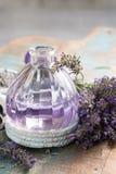 Nature cosmetics, handmade preparation of essential oils, parfum Royalty Free Stock Image