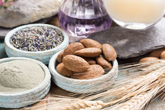 Free Nature Cosmetics, Handmade Preparation With Essential Oils And A Stock Photos - 97084343