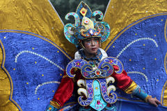 Nature costume carnival Royalty Free Stock Image