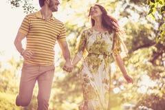 Nature courante de cuvette Couples dans l'amour Photo stock