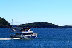 Nature Cruise Lighthouse Tours Stock Photo