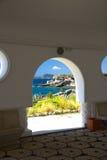 Nature d'été de Kalithea Rhodos Grèce de station thermale Image libre de droits