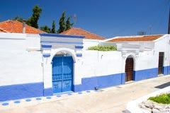 Nature d'été de Rhodos Grèce de porte Photos stock