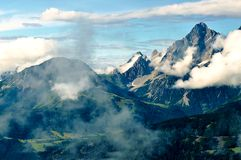 Nature d'Alpes Photographie stock libre de droits