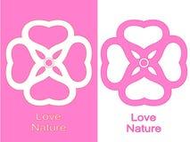 Nature d'amour Photos stock