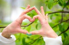 Nature d'amour, croyant en gloire Photographie stock libre de droits