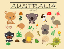Nature d'Australie illustration libre de droits