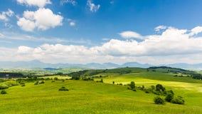 Nature dans la région de Liptov, Slovaquie en été 2015 Images stock