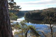 Nature dans la République Tchèque Photographie stock
