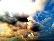 Nature de ciel Photo libre de droits