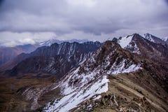 Nature de Kirgiz de secteur de lac Kol d'aile du nez Images libres de droits