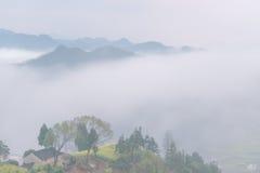 Nature de la Chine Shitan Photos stock