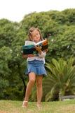 nature de livre Photographie stock libre de droits