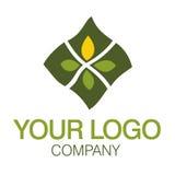 Nature de logo Photographie stock