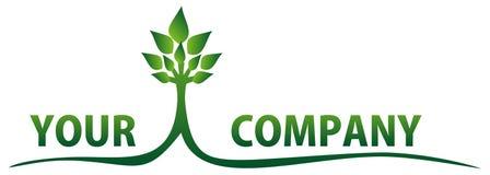 Nature de logo Image libre de droits