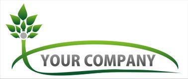 nature de logo d'eco Photos stock