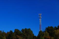 Nature de manière d'avions de station de téléphone portable Photos libres de droits