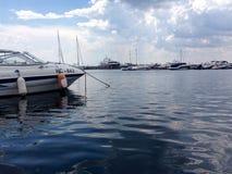 Nature de mer de bateau d'harmonie photographie stock