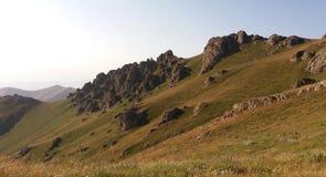 Nature de montagne de Kustup Images libres de droits