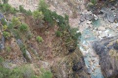 Nature de rivières Image libre de droits