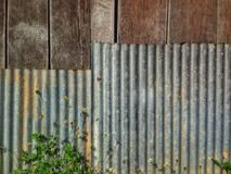 Nature de zinc de barrière Photo libre de droits