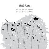 Nature design background Stock Image