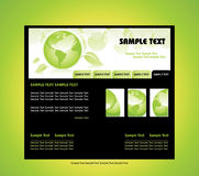 Nature design templates Royalty Free Stock Photography