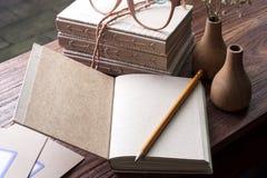 Nature diary Stock Photos