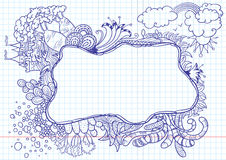 Nature doodles Royalty Free Stock Photo