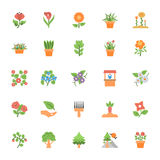 Nature and Ecology Flat Colored Icons 4. Need a set of awesome nature s. Just check out this Nature and Ecology Flat Vector Icons pack. Beautiful nature artwork Royalty Free Stock Photos