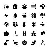 Nature and Ecology Solid Icons 1. Need a set of awesome nature s. Just check out this Nature and Ecology Flat Vector Icons pack. Beautiful nature artwork to add Stock Image