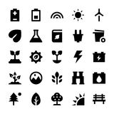 Nature and Ecology Vector Icons 3 Stock Photos