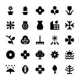 Nature and Ecology Vector Icons 5 Stock Image
