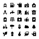 Nature and Ecology Vector Icons 2 Stock Photo