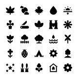 Nature and Ecology Vector Icons 7 Stock Photo