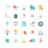 Nature and Ecology Vector Icons 2 Royalty Free Stock Image