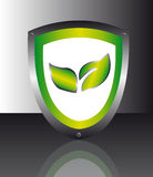 Nature emblem Royalty Free Stock Image