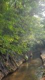 Nature en montagnes de pyrinees Image libre de droits