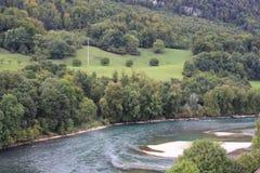 Nature en Suisse, Aarburg Images stock