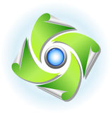 Nature and environment icon Stock Photography