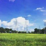 Nature et électricité Photos libres de droits