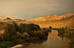 Nature et rivière IV image libre de droits