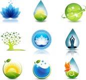 Nature et soins de santé Images stock